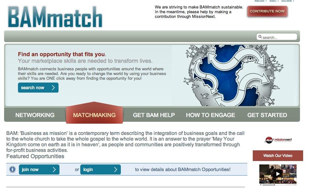 Link: BAM Match