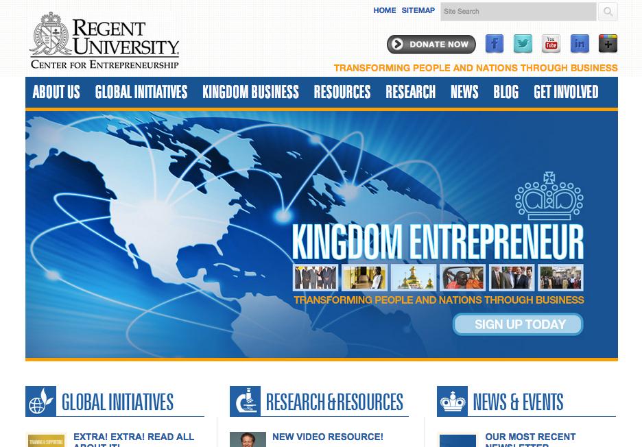 Link: Regent Center for Entrepreneurship