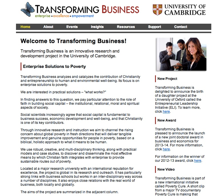 Link: Transforming Business