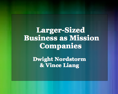 Article: Larger-Sized Business as Mission Companies