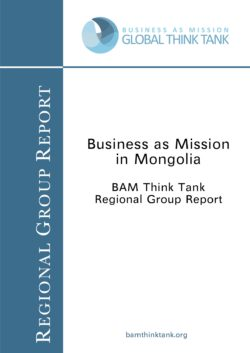 BAM Think Tank Report: Mongolia