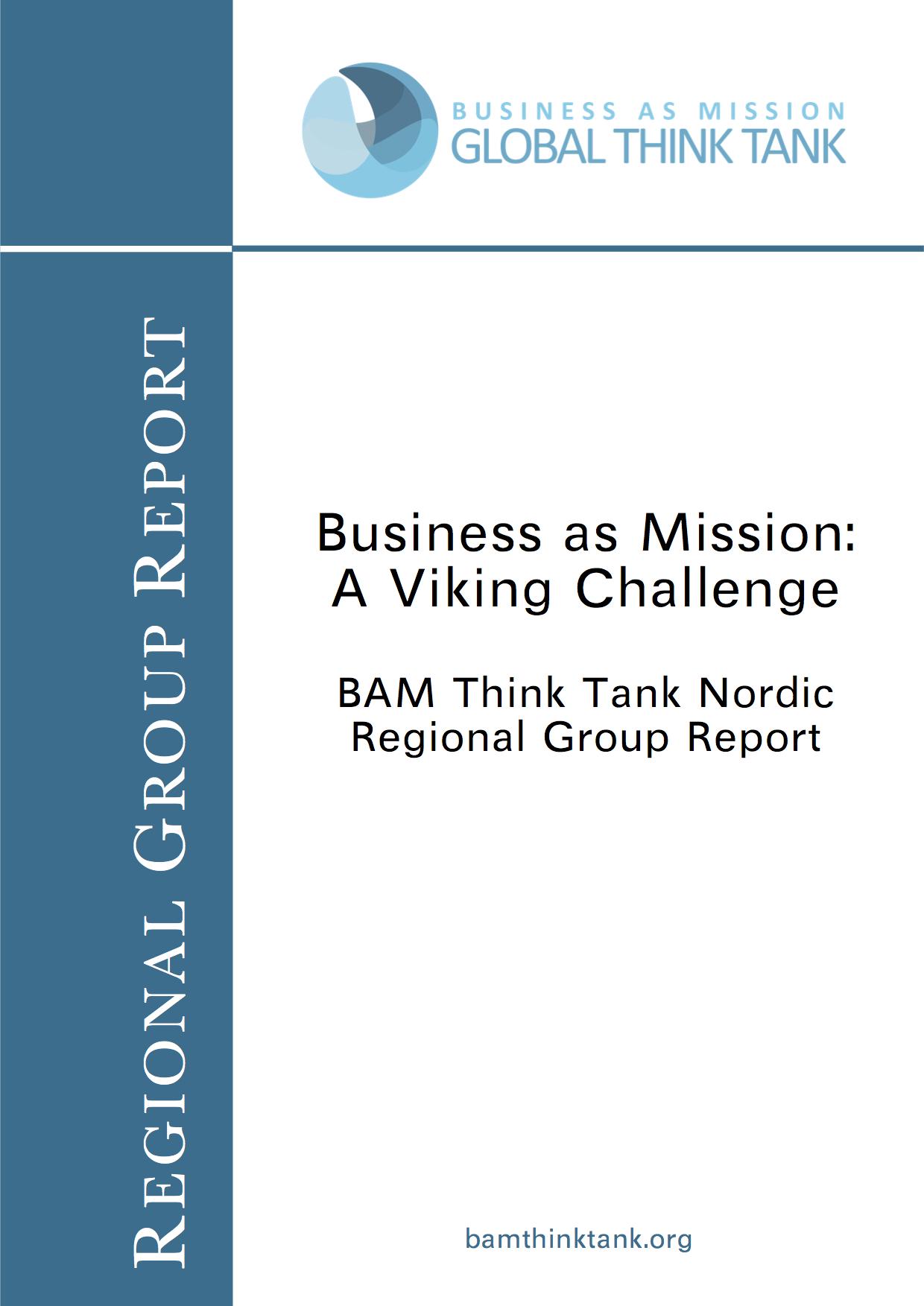BAM Think Tank Report: Nordic