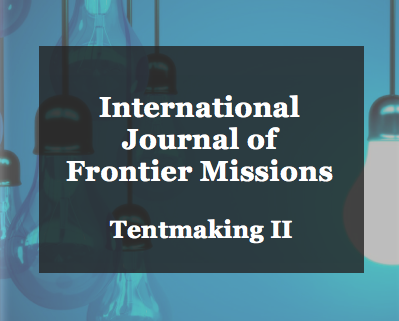 Article: IJFM Tentmaking II