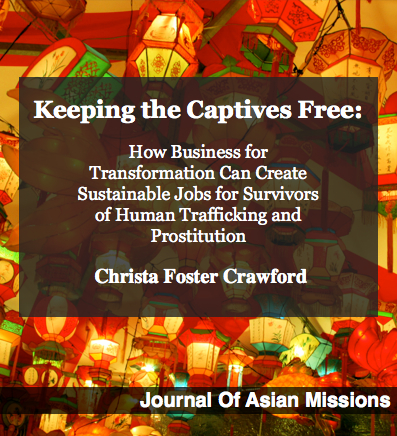 Article: Keeping the Captives Free - Journal Asia Mission