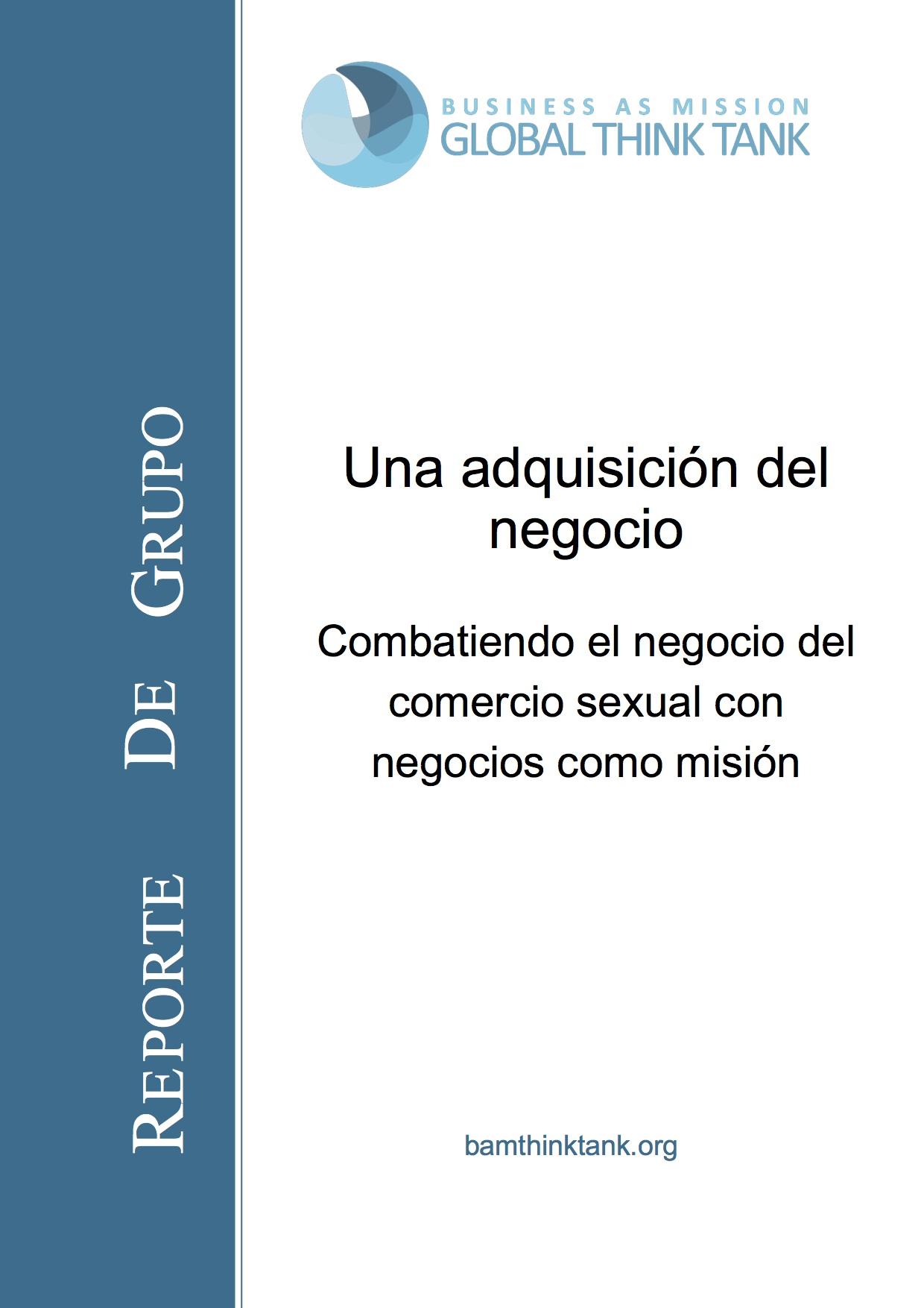 BAM Think Tank Report: HT Spanish