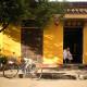 yellow chinese house