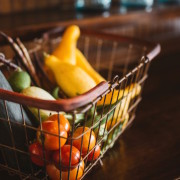 produce in basket