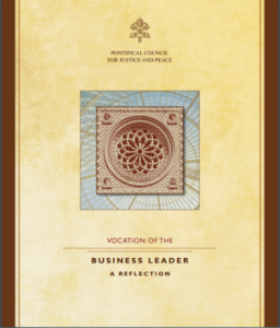 Paper - Vocation of the Business Leader