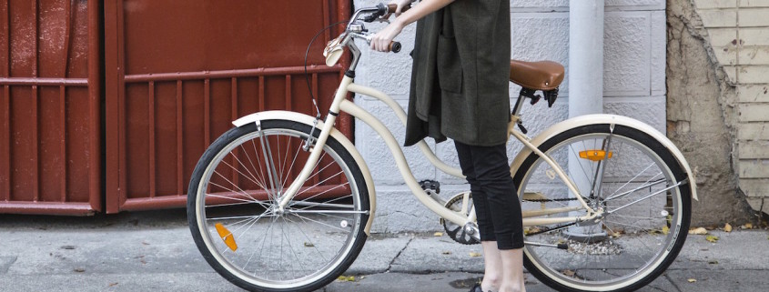 cream bike
