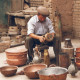 street seller pots