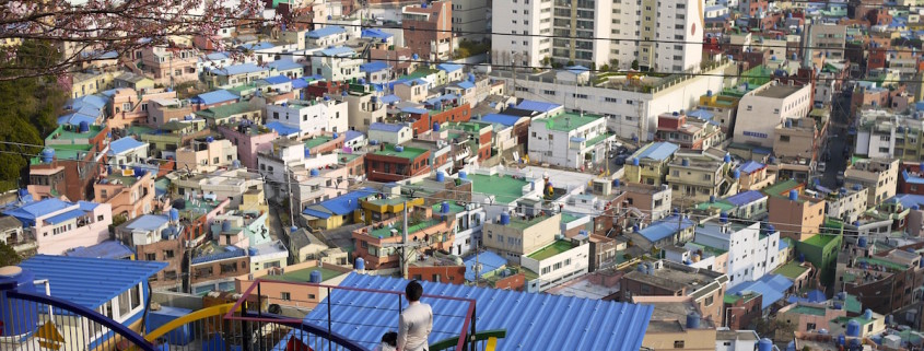 town in asia
