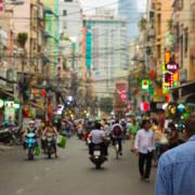 street scene asia