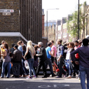 brick lane crowds