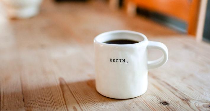 begin coffee