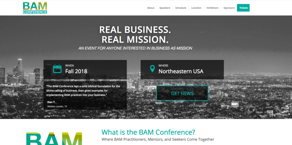 Event - BAM Conference 2018